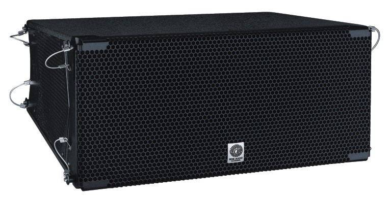As308 High Performance 3-Way Line Array Audio Equipment System, Speaker Box