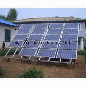 Economic Home solar power system