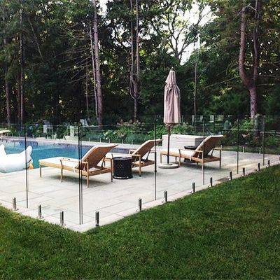 frameless pool fence fittings