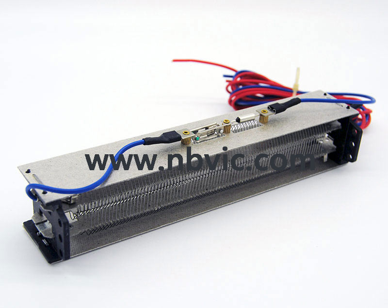 Mica heating element for fan heater