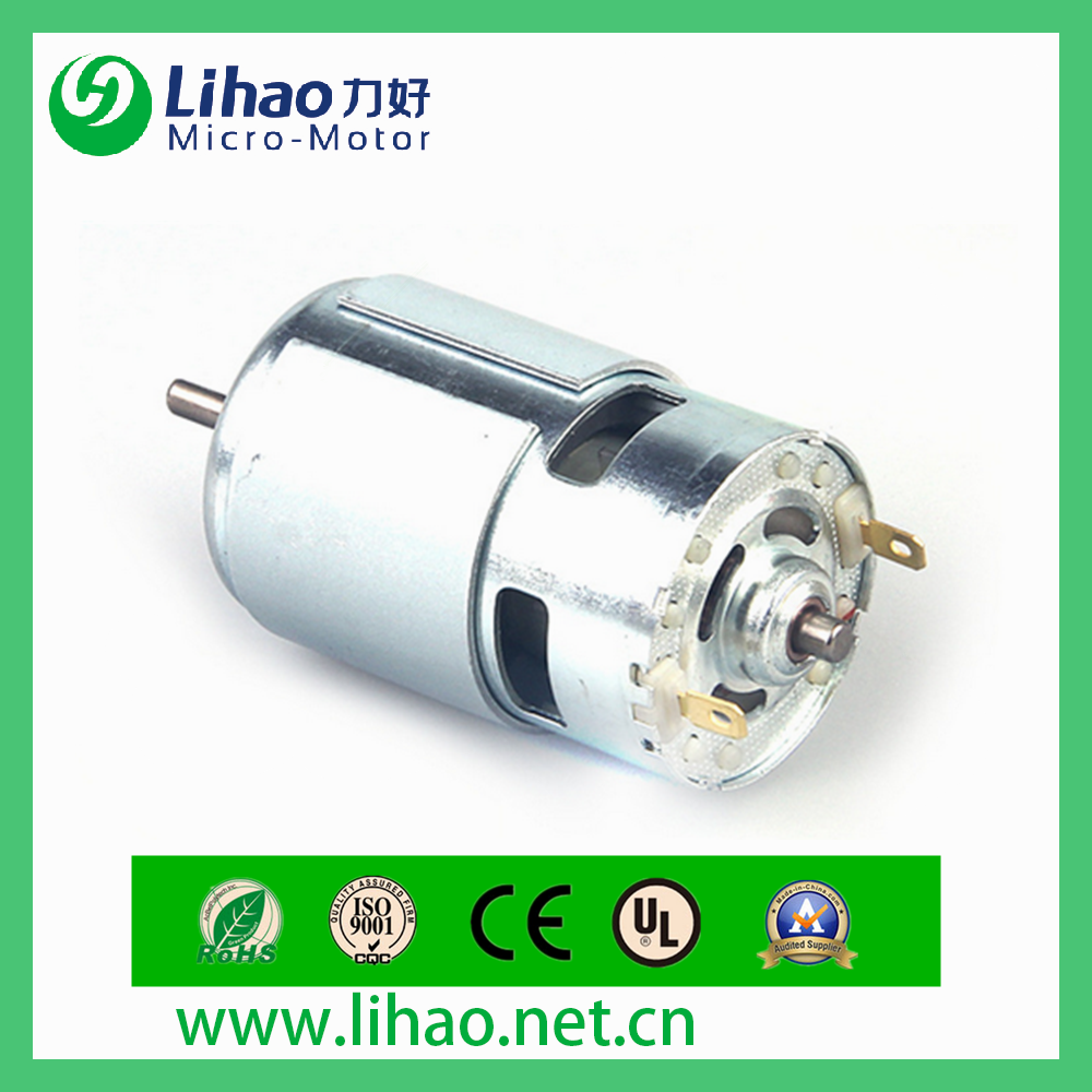 hrs-750sh 12v speed micro motor for precision machinery