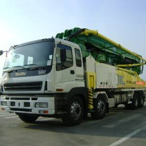 Trailer Chassis Truck Boom Pump