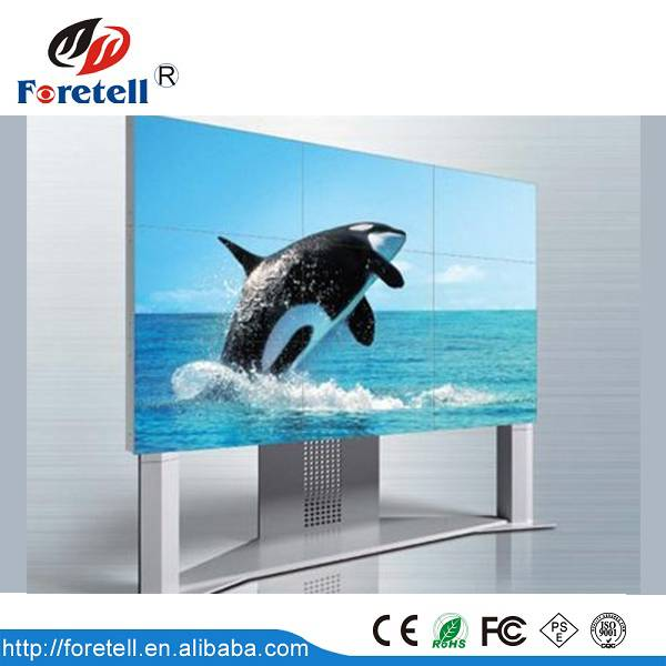 55''Commercial grade LCD video wall full hd resolution 1920x1080