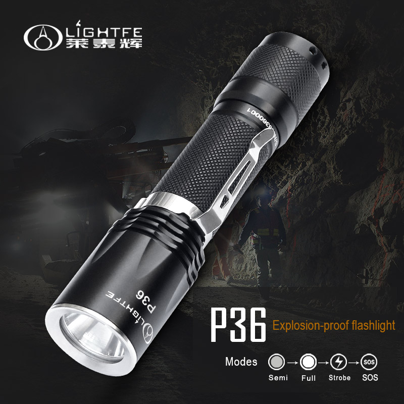 Portable & Rechargeable Flashlight
