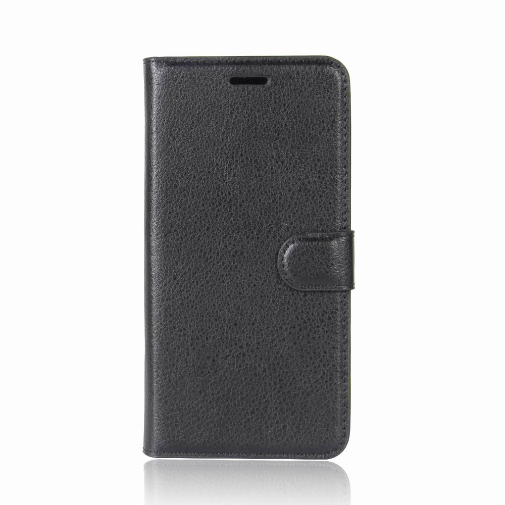 Business Style New Design Leather Flip Cover Case for iPhone X With Magnetic Inside