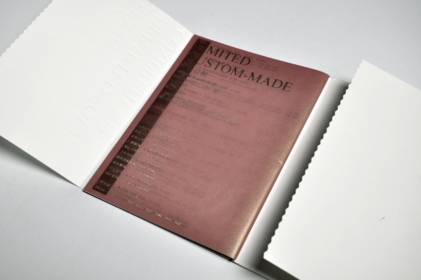 Customize hard/leather cover offset printing menu for hotel/restaurant