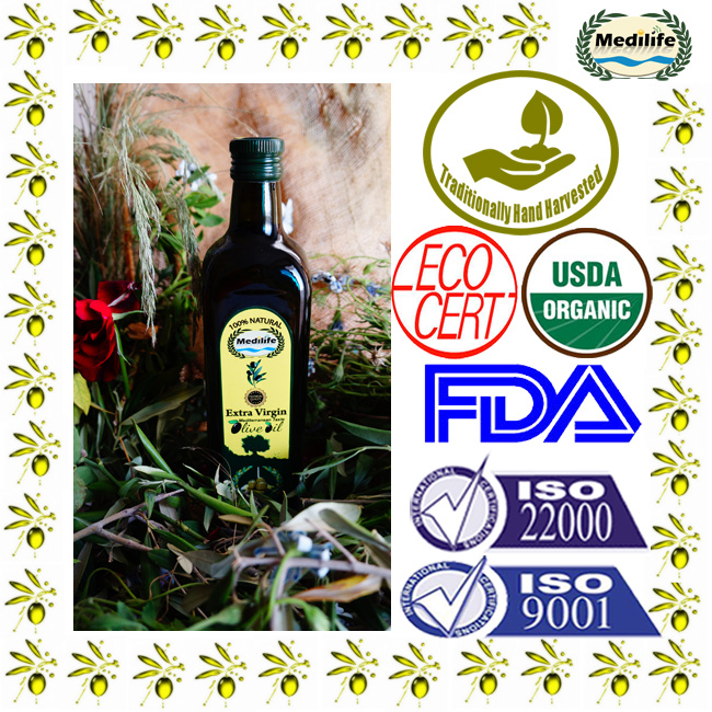 Extra Virgin Olive Oil 750 ml Marasca Dark Glass Bottle