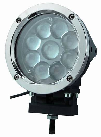 High quality led driving light, 45W CREE Round LED work light with 3060 lumen IP67
