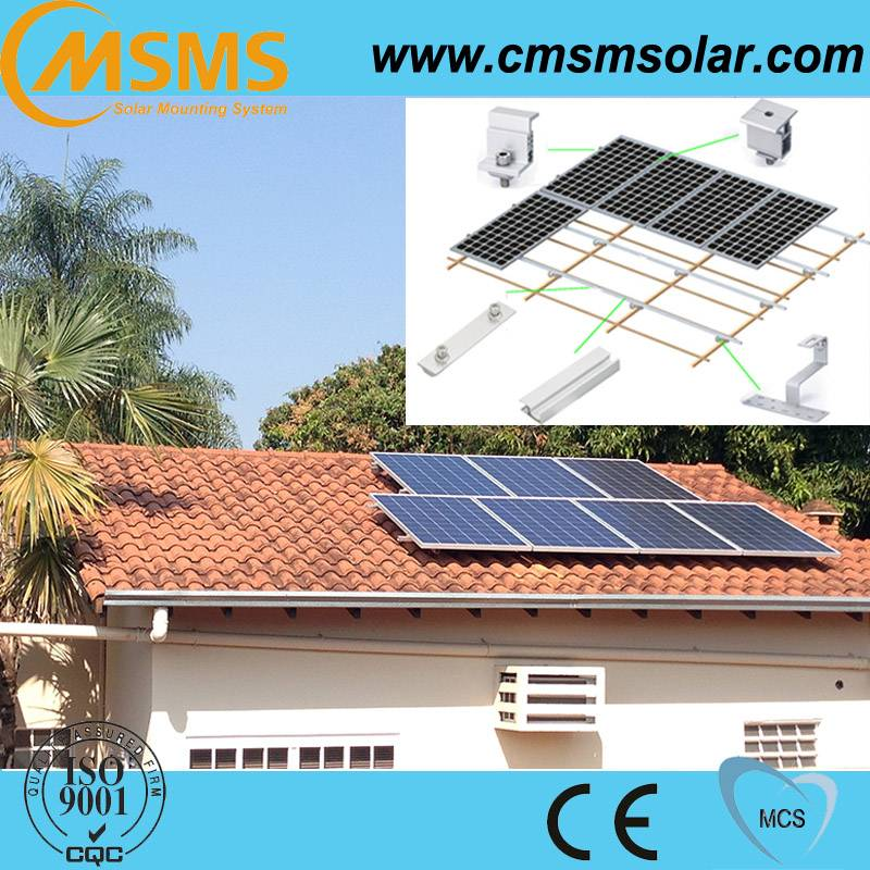 Commercial solar panel mounting brackets, pv solar mounting system