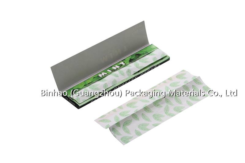 Factory Manufactured Cigarette Hand Rolling Paper Of Different Pattern And Color