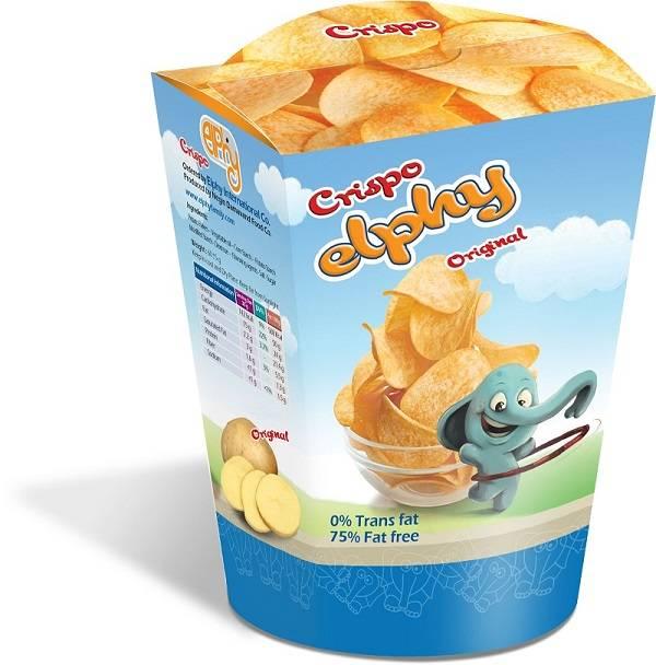 Elphy Crispy Potato Snack