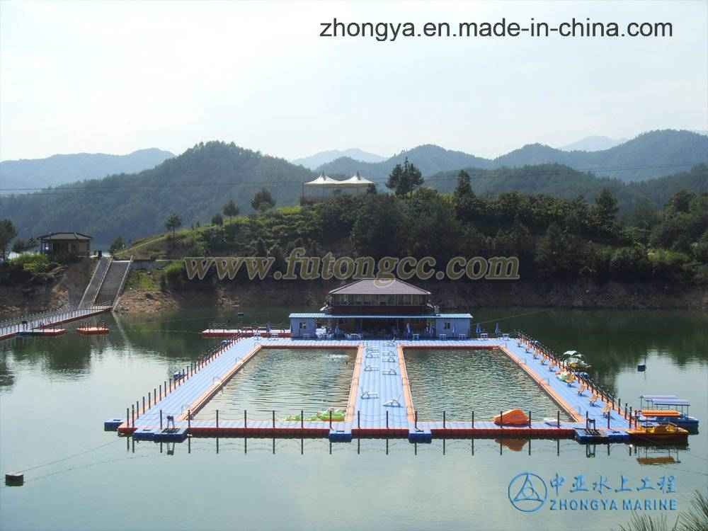Pontoon Float Swimming Pool in Lishui