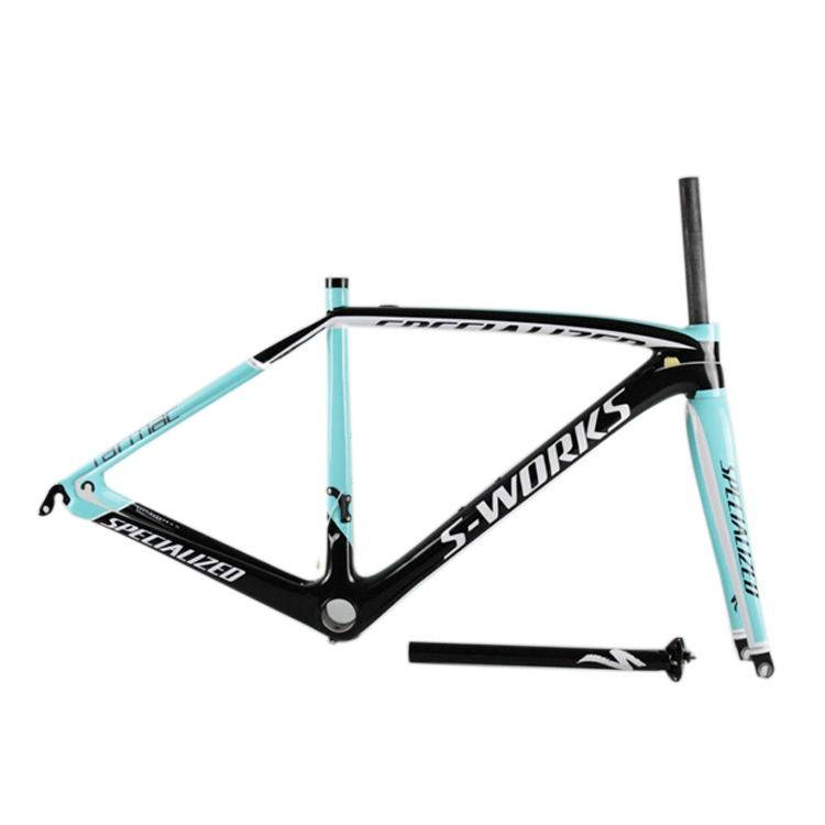 Brand: Specialized SL5 Material: Full Carbon Fiber Color: Black/White/Yellow/Blue/Black with Red Siz