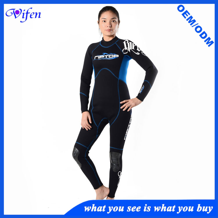 3mm scr dive suit wear resistance warm keeper wetsuits with knee printing wholesale