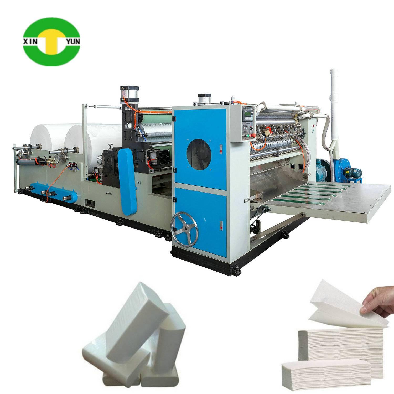 XY-BT-288B N-fold Hand Towel Paper Machine With Glue Lamination
