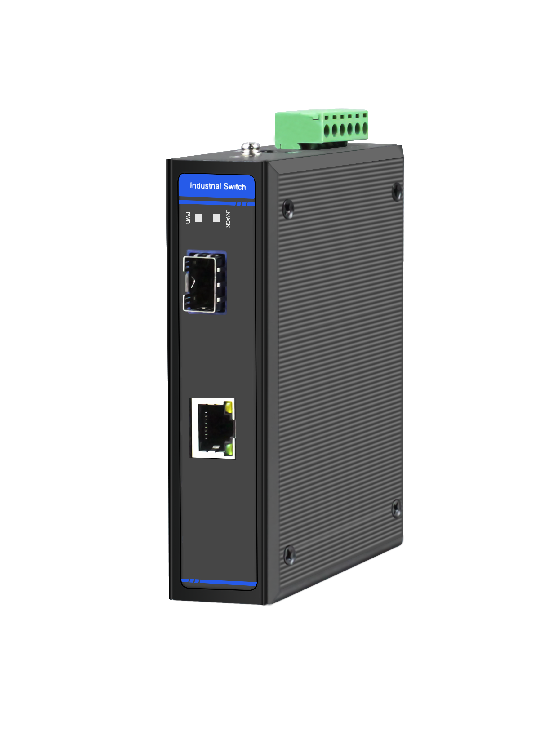 1 x 10/100/1000M Base-TX POE/NON-POE Industrial Ethernet Switch