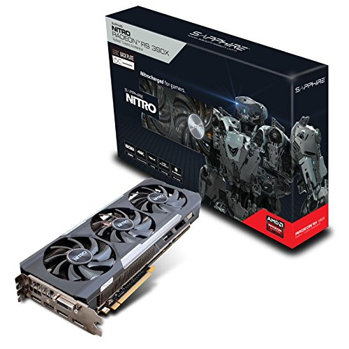 Sapphire Radeon NITRO R9 390X 8GB GDDR5 with Backplate Graphics Card