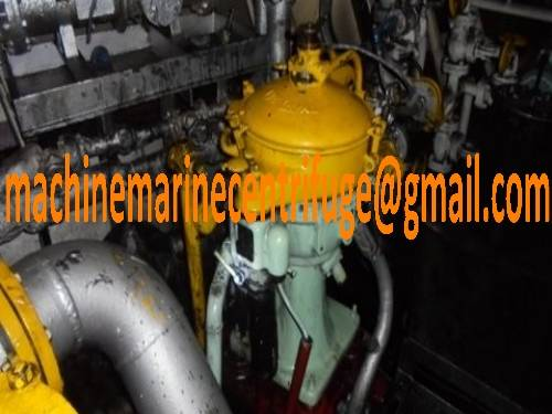Alfa Laval MAB 206 Oil Purifier, MAB 206 Oil Separator, HFO Purifier, Waste Oil Centrifuge,