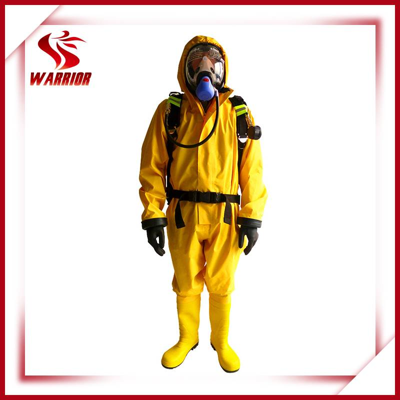 PVC chemical protective suit