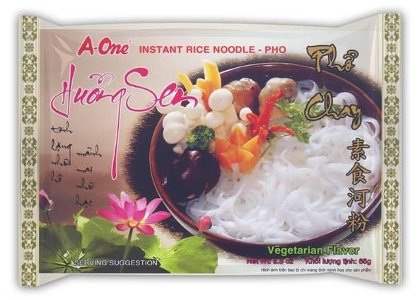 vegetarian rice noodles