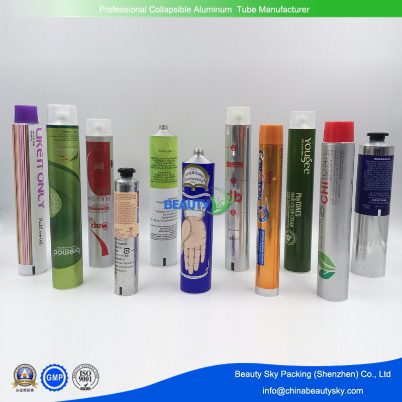 Cosmetic Packaging Tube empty aluminum tubes For Hand Cream Tubes Skin Care Tubes Body Care Tubes