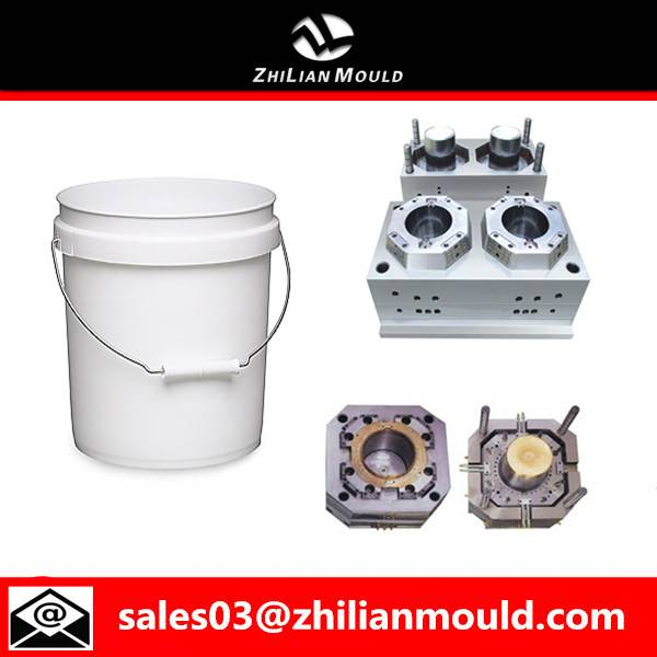 Plastic paint bucket mould by China supplier