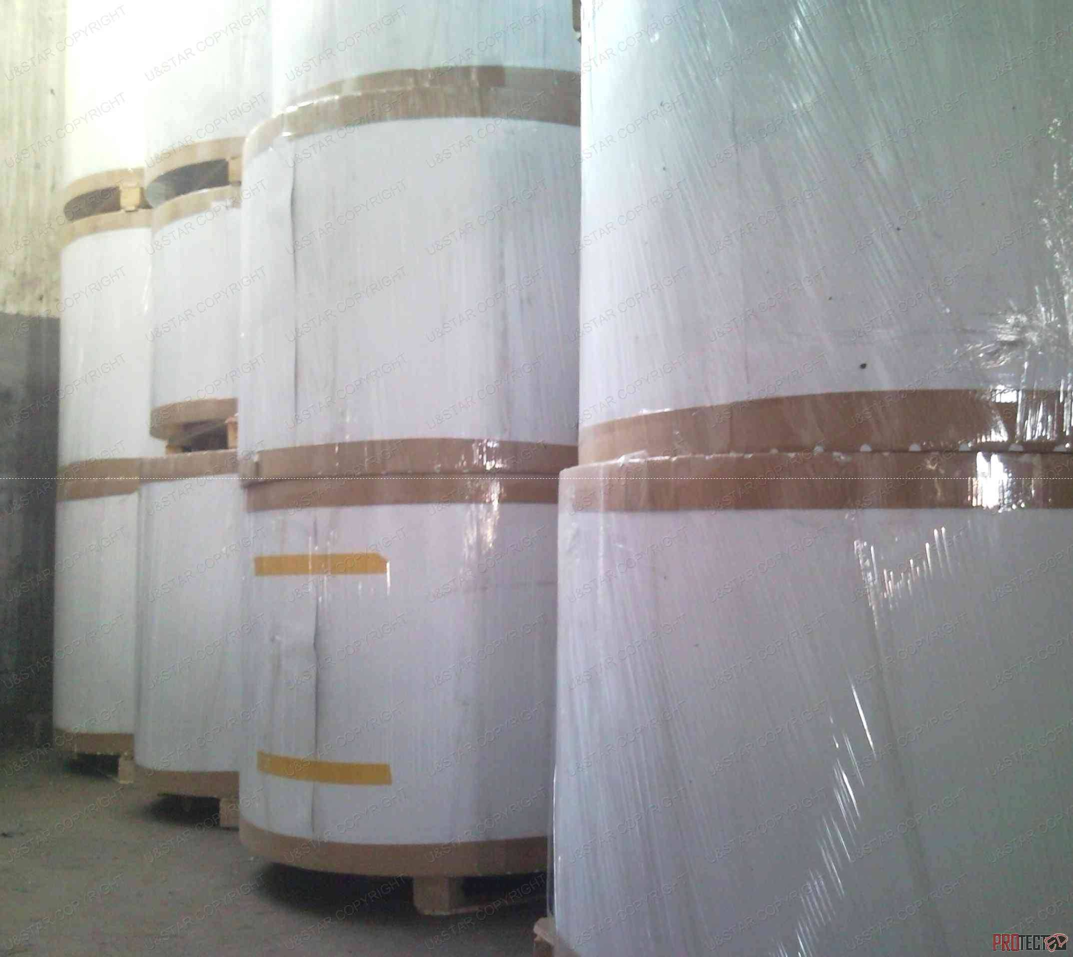 white face grey back coated paperboard