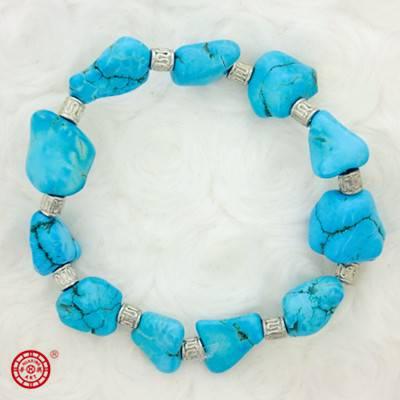 Stabilized Turquoise Bracelet