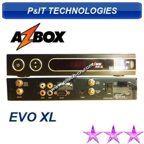 Az Box Evo Xl DVB-S Set Top Box