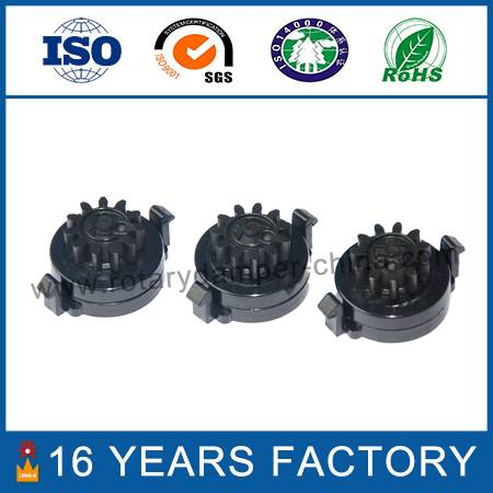 plastic soft close rotary damper for furniture and kitchenwar