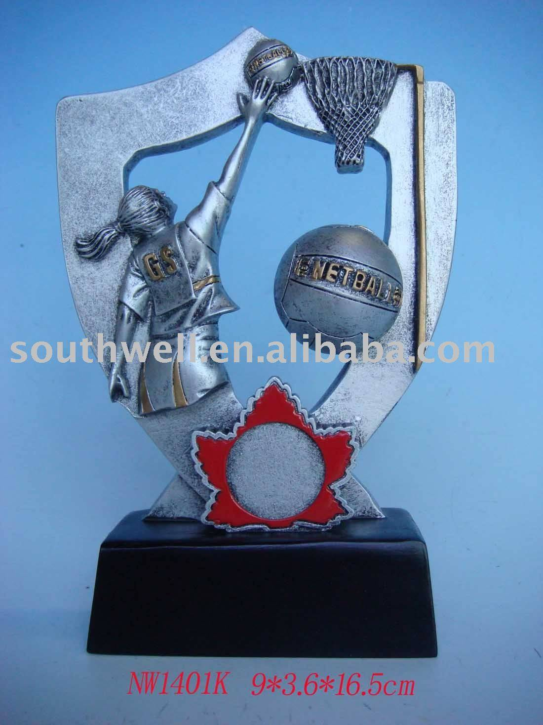 resin basketball trophy---NW1401K