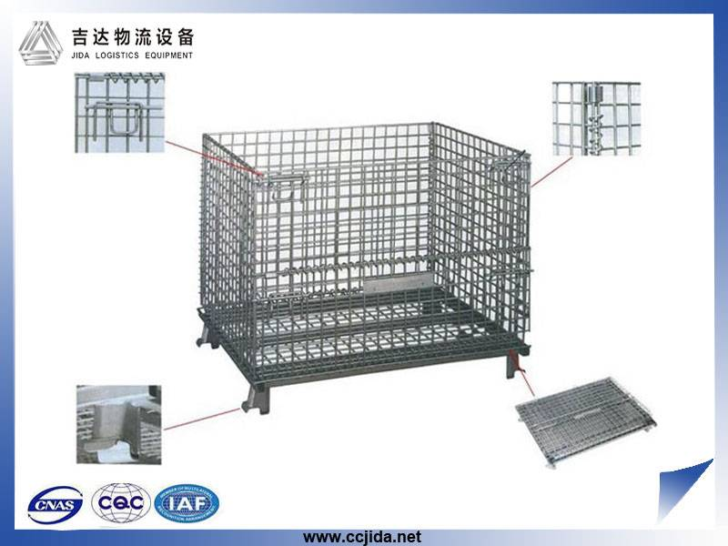 Hot sale OEM Light duty galvanized Wire Mesh Storage Cage container