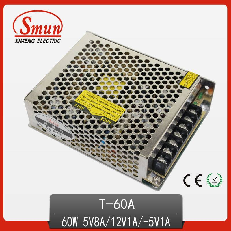 nonwaterproof  triple output switching pwoer supply
