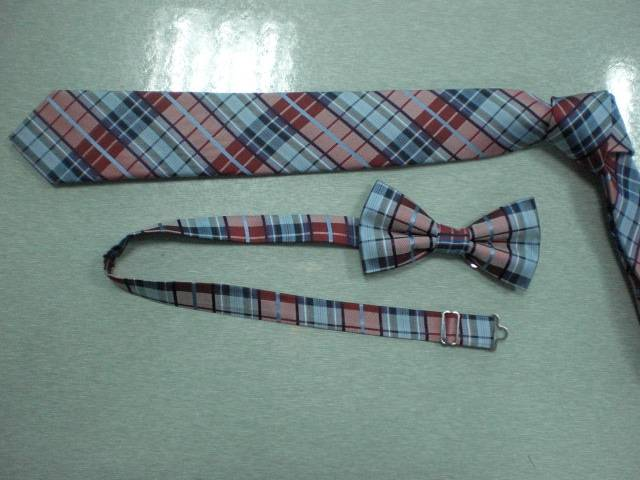 Stripe Polyester Bow Ties(5884)