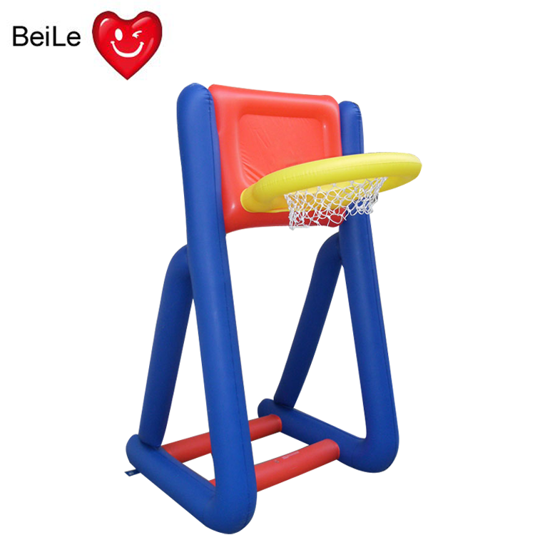 Factory price inflatable movable basketball stand for kids