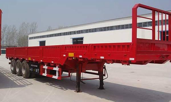 side wall semi trailer truck