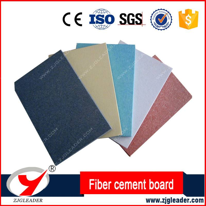 Colorful fiber cement board
