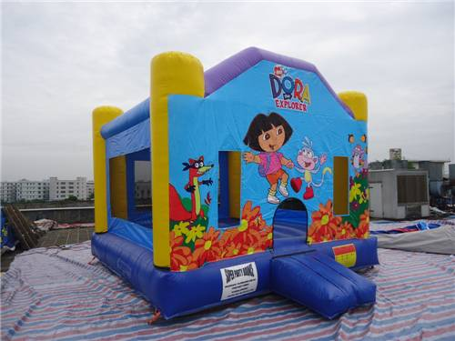 Lovely PVC Inflatable Bounce House Combo , Commercial Jumping Castles for Rent / Hire