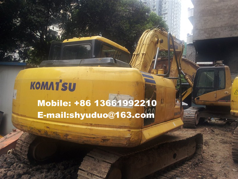 Used Komatsu PC130-7 Crawler Excavator