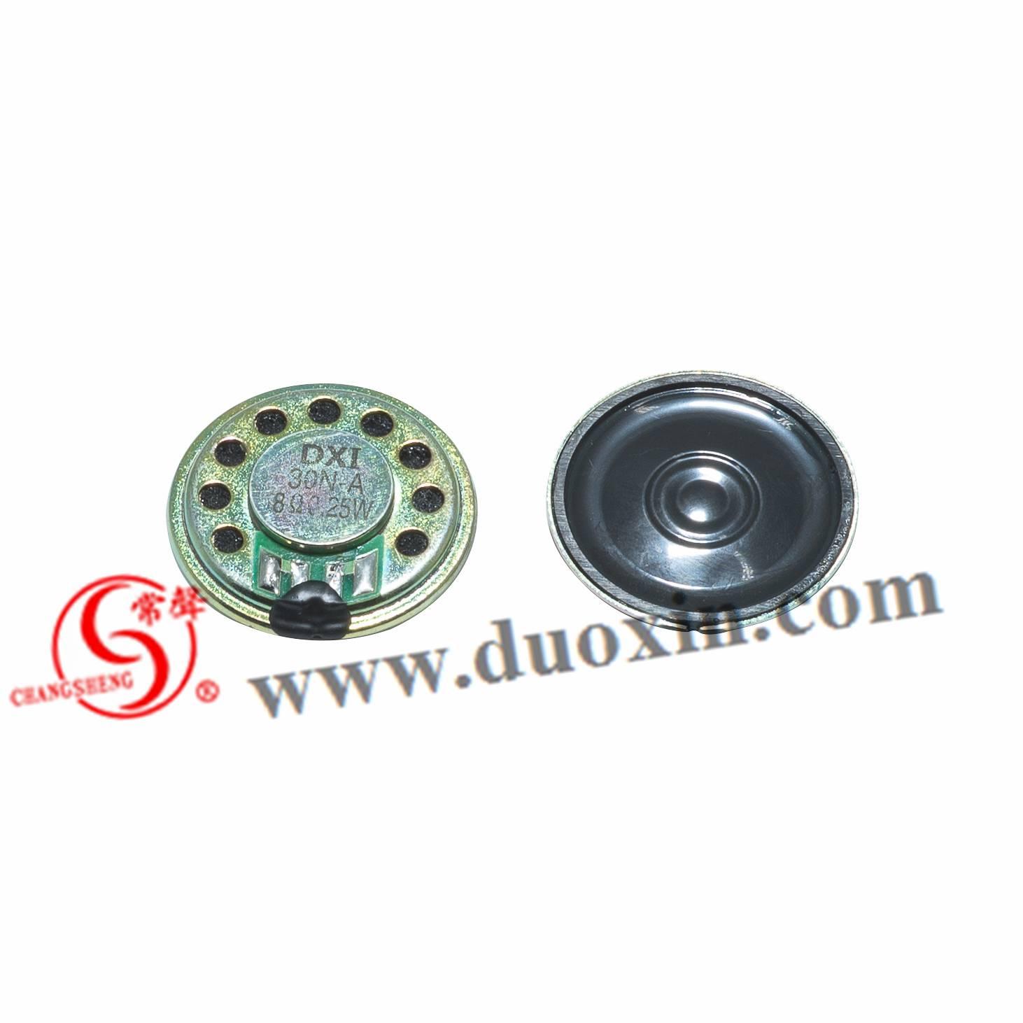 30mm mylar speaker DXI30N-A intercom speaker DVD speaker