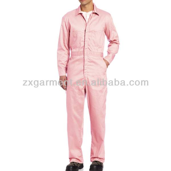 PINK PAINT SUIT COVERALL OEM WHOLESALE