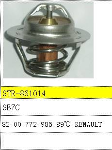 Thermostat and thermostat housing use for 8200772985 Renault