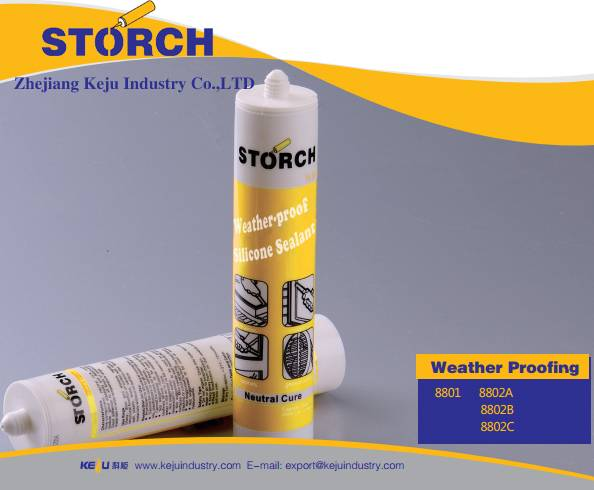 Weather-proof  Curtain Wall Neutral Silicone Sealant