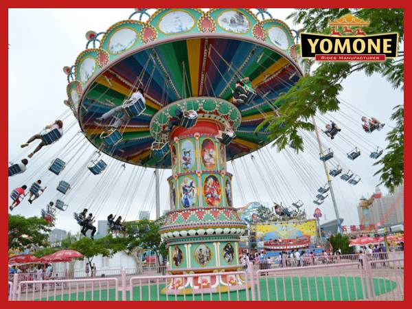 CE certification amusement rides flying chair outdoor equipment for sale