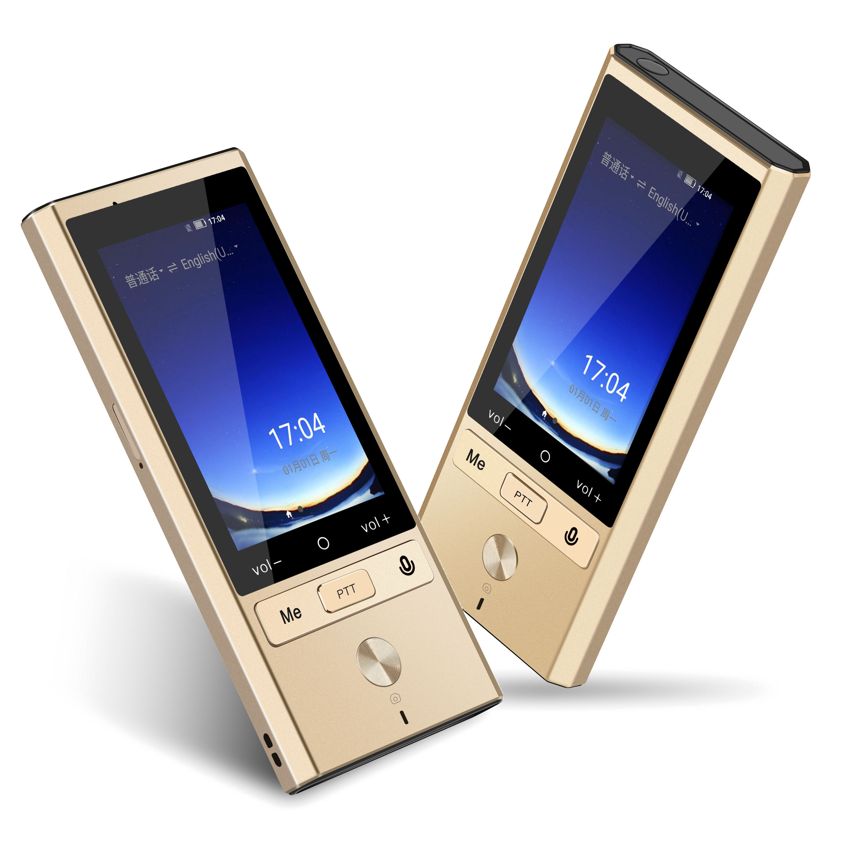 75 Languages 4G Voice Portable Pocket Smart Translator with 8 Languages Offline Translation