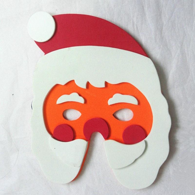 Halloween Christmas Children Cartoon EVA Forest Animal Santa Claus Mask