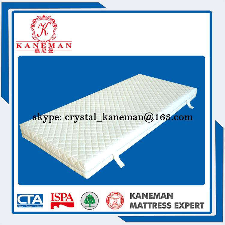 Detachable Foam Mattress with Quilted Cover
