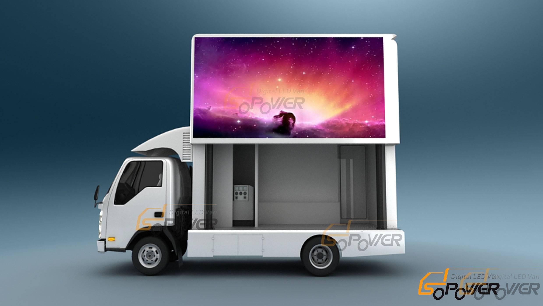 SoPower Digital Billbroad on Wheels Vehicle Mobile Truck iTruck6