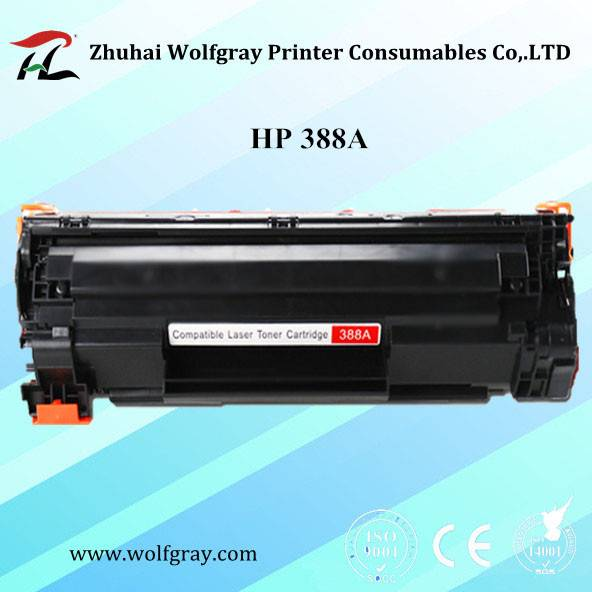 Wholesale compatible toner cartridge HP 388A for HP P1005/1006/1007/1008