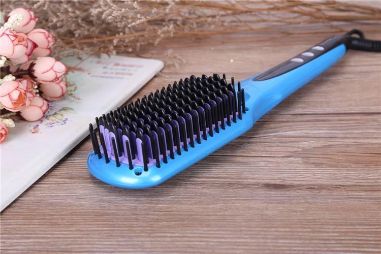 2016 New Design MCH heater Tourmaline Ceramic double anion spray hair straightening brush